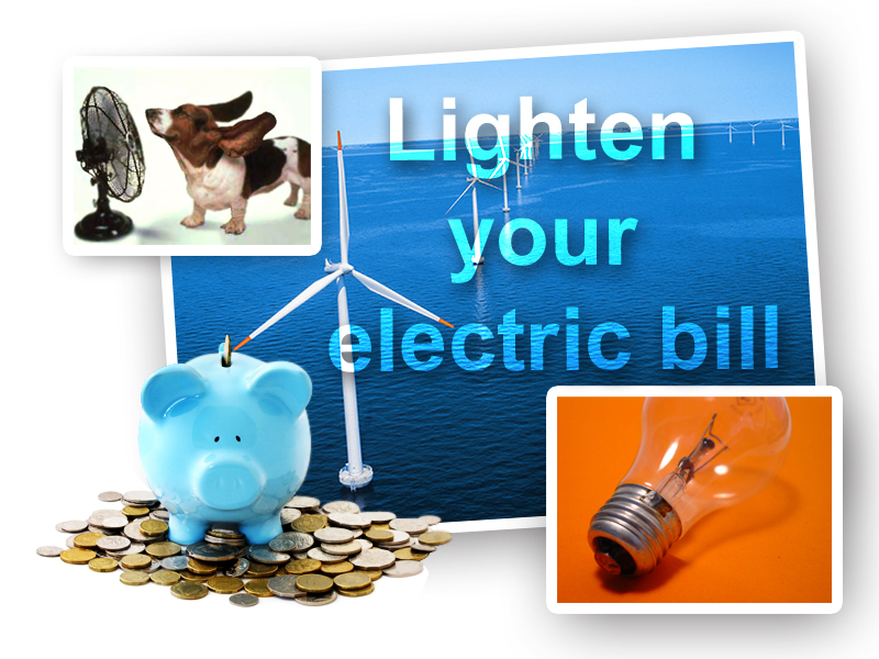 Lighten your electric bill